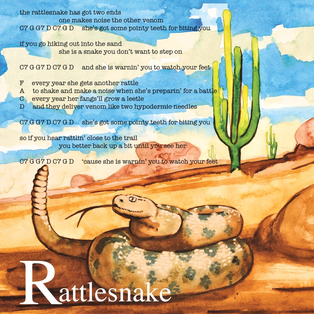 26 Animals - Rattlesnake